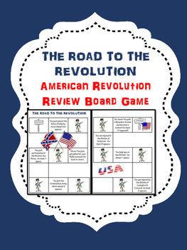 American Revolution Test Review Board Game