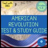 American Revolution Test & Study Guide