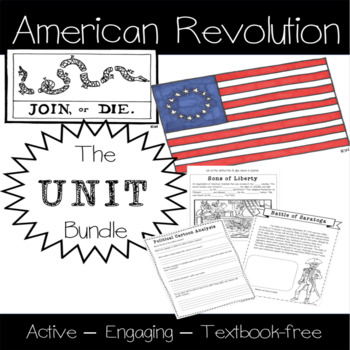 American Revolution: The Unit (Georgia Standards Aligned)