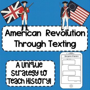 American Revolution Through Texting