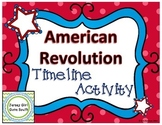 American Revolution - Timeline Activity