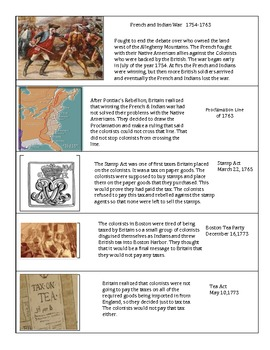 American Revolution Timeline Activity MJ
