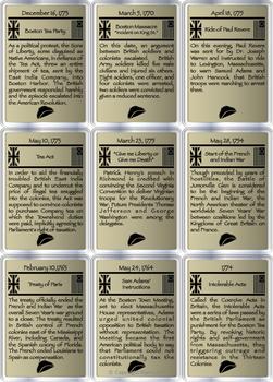 American Revolution Timeline Game