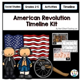 American Revolutionary War Timeline Kit with Posters & Activities