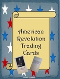 American Revolution Trading Cards Assignment