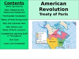 American Revolution - Treaty of Paris Analysis