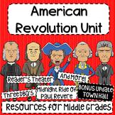 American Revolution Unit Bundle!