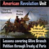 American Revolution Unit