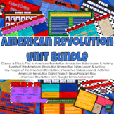 American Revolution Unit DIGITAL BUNDLE   United States (U