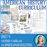 American Revolution Unit Bundle: American Revolution Activities, Assessments, +