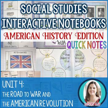 American Revolution Unit Bundle: American Revolution Activities, Assessments, +