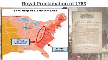 American Revolution Unit Materials