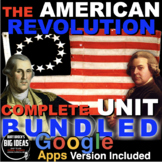 American Revolution Unit | Causes, War & Constitution + Di