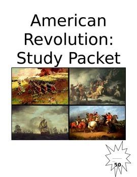American Revolution Unit Packet