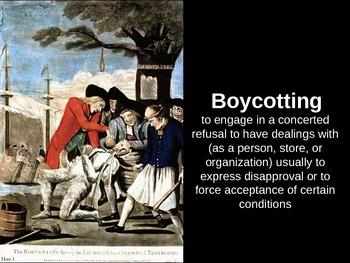 American Revolution Unit PowerPoints Bundle