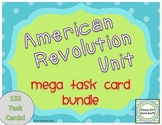 American Revolution Unit Task Card Mega Bundle - Set of 132 Task Cards