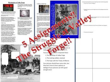 American Revolution: Valley Forge Bundle