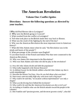 French Revolution History Channel Worksheet Answers Promotiontablecovers