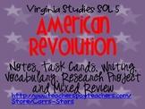 American Revolution Virginia Studies SOL 5 Unit