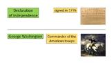 American Revolution Vocabulary Packet