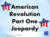 American Revolution - Vocabulary, Review Jeopardy, and Test