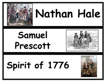 American Revolution Vocabulary Set 7