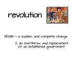 American Revolution Vocabulary Word Wall