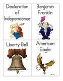 American Revolution Vocabulary Word Wall Word Cards for Co
