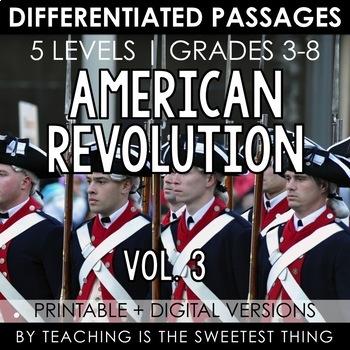 American Revolution Vol. 3: Passages