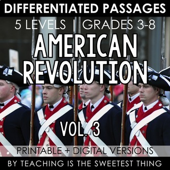 American Revolution Vol. 3: Passages