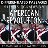 American Revolution: Passages (Vol. 3)