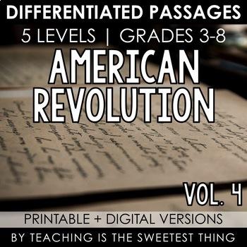 American Revolution: Passages (Vol. 4)