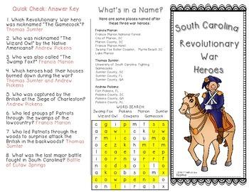 American Revolution War Heroes