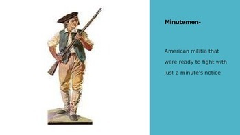 American Revolution:  What led to Freedom for the Colonists?