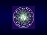 American Revolution- Who Wants To Be A Millionaire