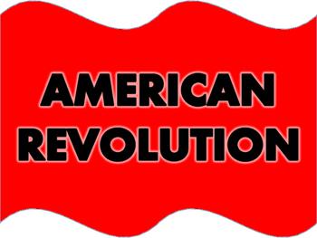 American Revolution Word Wall