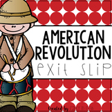 American Revolution Worksheet