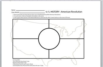 American Revolution: Student Worksheet