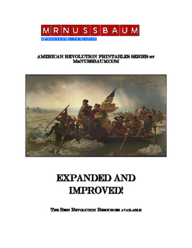 american revolution world of printables from mrnussbaum by mr nussbaum