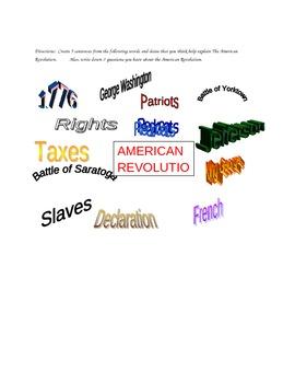 American Revolution Worldsplash...George Washington, Thoma
