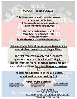 American Revolution Writing P. 2
