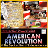 American Revolution and Declaration of Independence PowerPoint & Google Slides