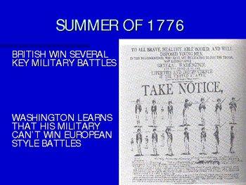 American Revolution beginning