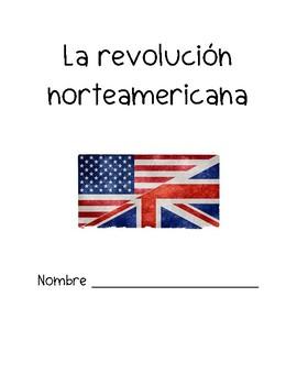 Revolución norteamericana folder cover