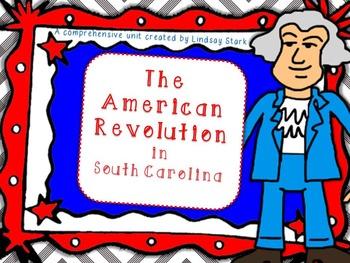 American Revolution in SC: PowerPoint, plans, homework, qu