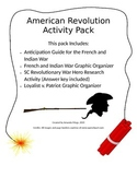 American Revolution in South Carolina Activity Pack