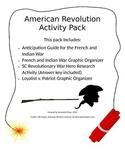 American Revolution in South Carolina Activity Pack