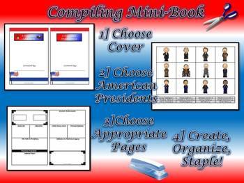 American Revolutionary Heroes & Presidents Mini-Book Research Bundle