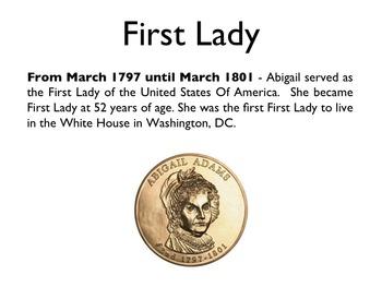 American Revolutionary War - Abigail Adams PowerPoint
