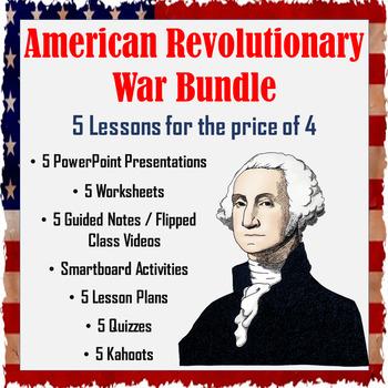 American Revolutionary War Bundle